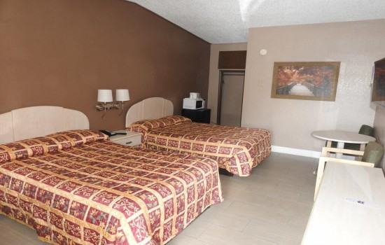 Sunset Inn St. Augustine: 2 Double Beds